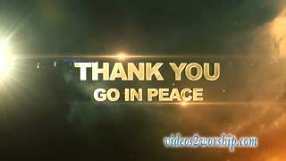 Thank You Worship Video Background