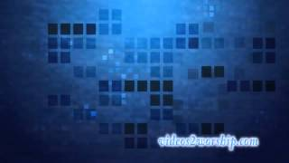 Abstract Blue Worship Background