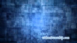Blue Fractal Video Background