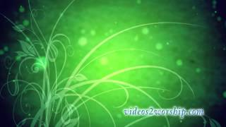 Green Flourish Animated Backdrop