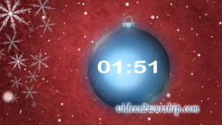 Christmas Holidays 5 Minutes Countdown