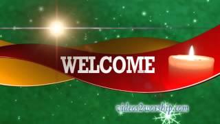 Christmas Holidays Welcome Motion