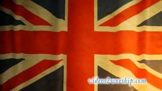 British Waving Flag Background